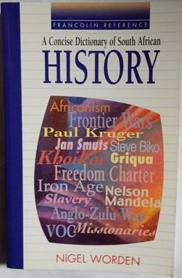 Picture of A Concise Dictionary of South African History