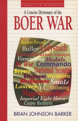 Picture of A Concise Dictionary of the Boer War