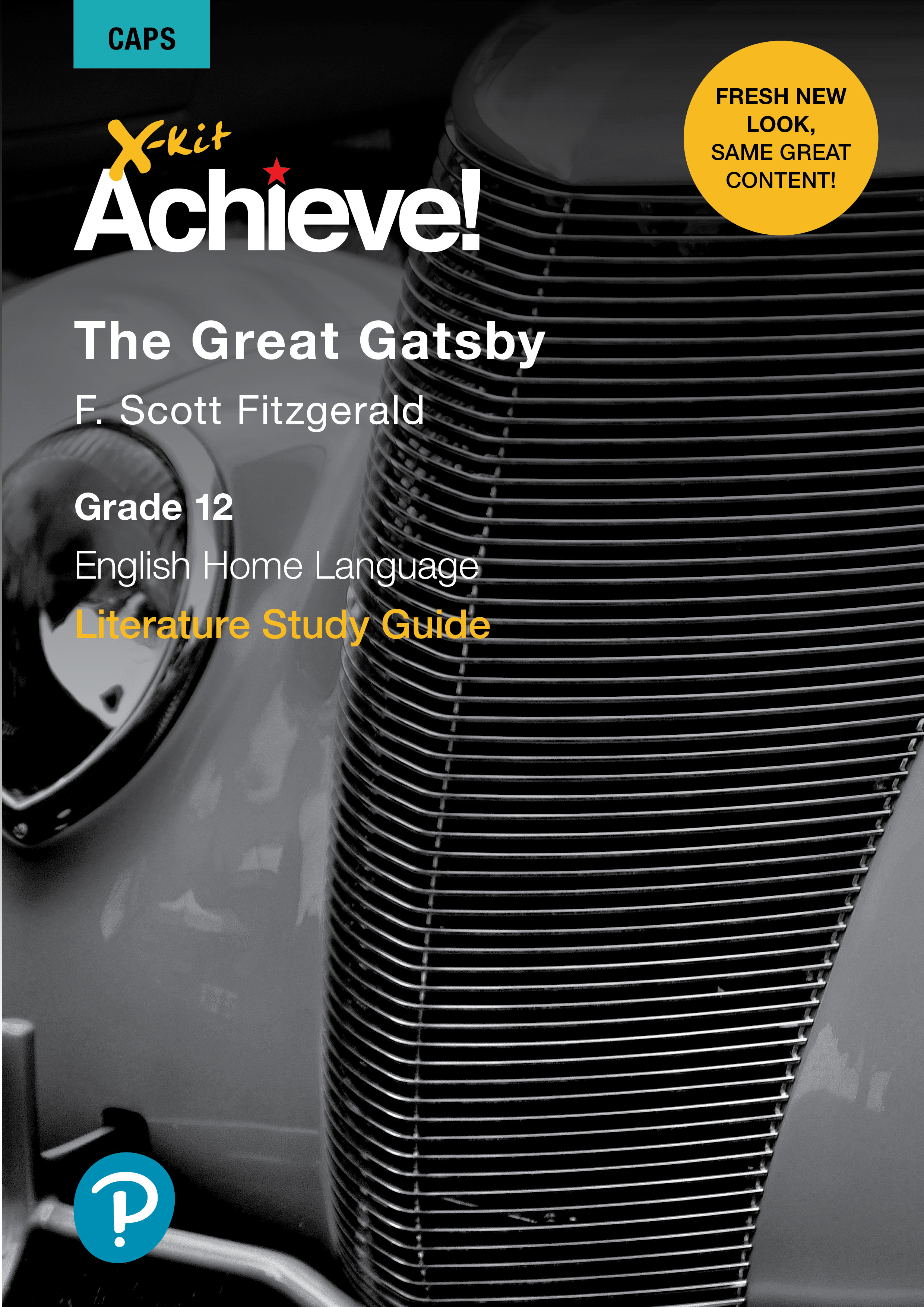 Picture of X-Kit Achieve! The Great Gatsby: English Home Language : Grade 12 : Study Guide
