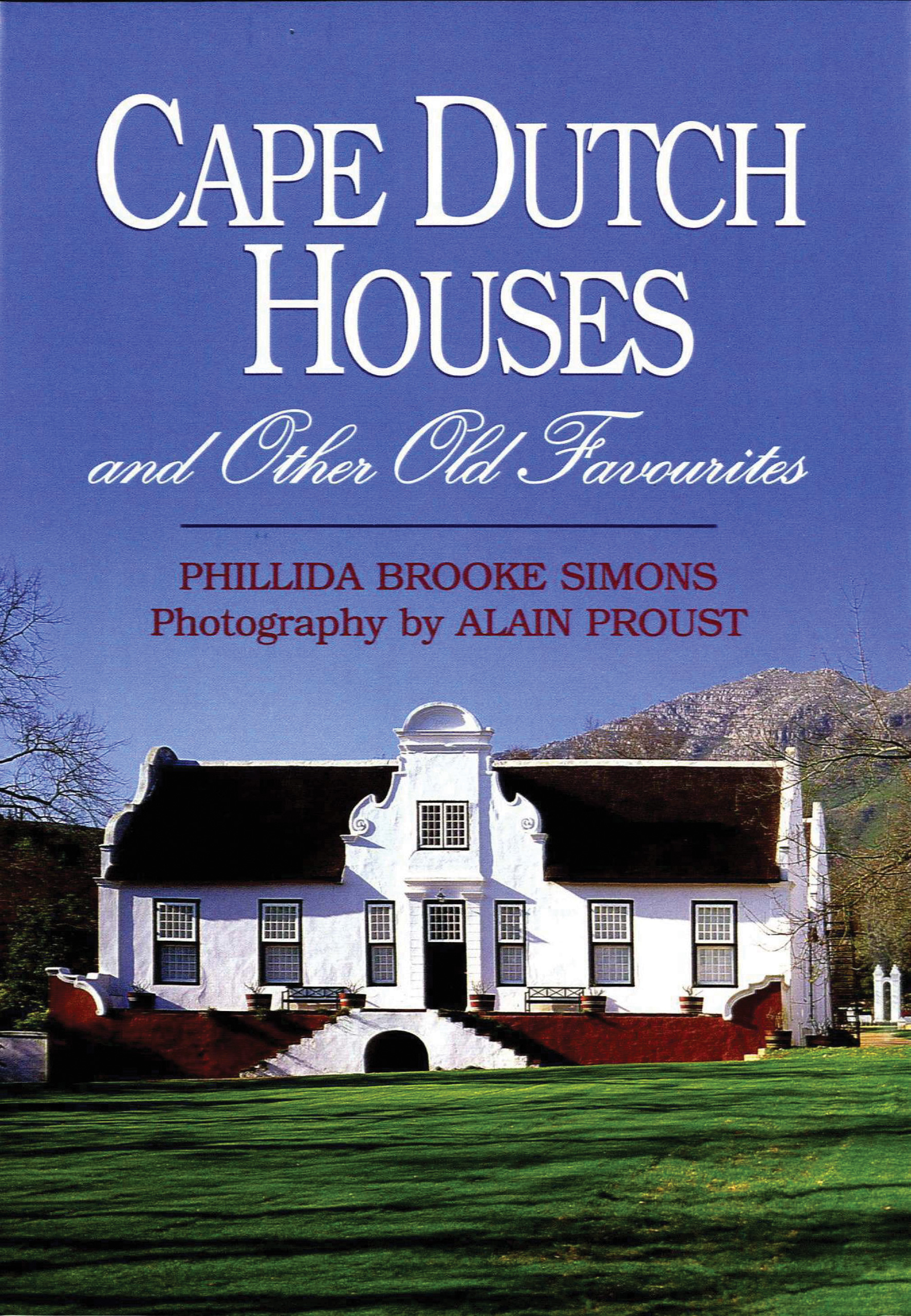 Picture of Cape Dutch houses and other old favourites