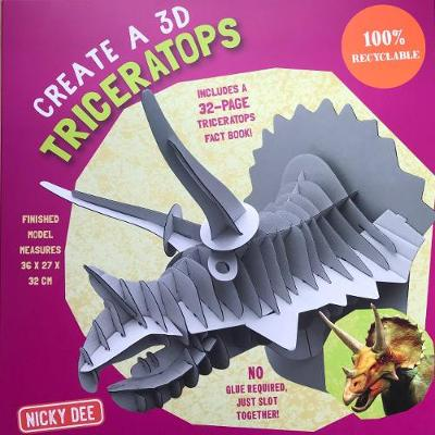 Picture of CREATE A 3D TRICERATOPS 2018