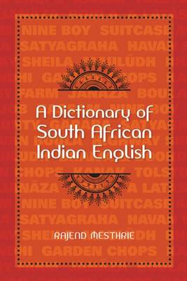 Picture of A dictionary of South African Indian English
