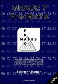 Picture of PracMaths CAPS: Gr 7: Workbook + memo's