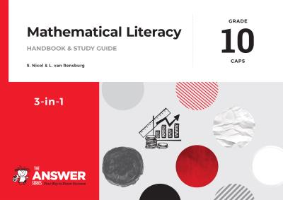 Picture of The Answer Series Grade 10 maths literacy 3in1 CAPS study guide