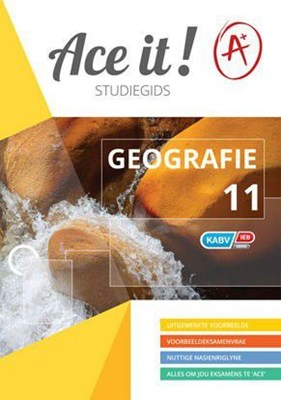 Picture of Ace It! Geografie : Graad 11