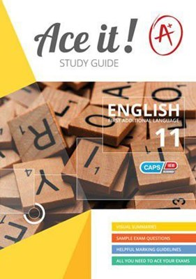 Picture of Ace It! English first additional language : Graad 11