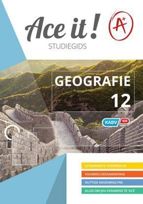 Picture of Ace It! Geografie : Graad 12