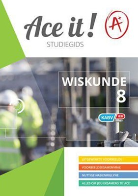 Picture of Ace It! Wiskunde : Graad 8