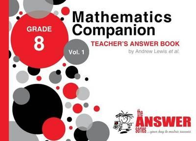 Picture of Mathematics Companion: Gr 8: Teacher's Answer Book Vol 1 - 4