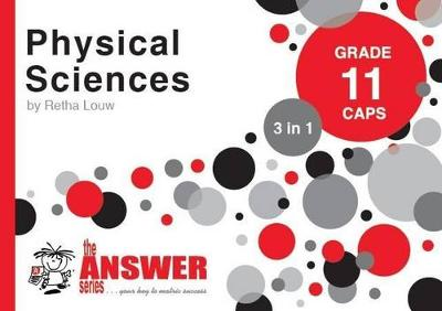 Picture of The Answer Series Grade 11 physical sciences 3in1 CAPS study guide
