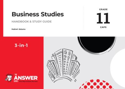Picture of The Answer Series Grade 11 business studies 3in1 CAPS study guide