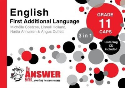 Picture of The Answer Series Grade 11 English first addisional language 3in1 CAPS study guide