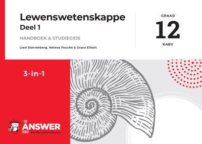 Picture of Die Antwoord-Reeks Graad 12 lewenswetenskappe deel 1 3in1 KABV studiegids