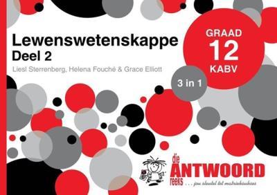 Picture of Die Antwoord-Reeks Graad 12 lewenswetenskappe deel 2 3in1 KABV studiegids