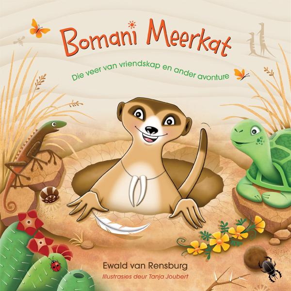 Picture of Bomani Meerkat & die veer van vriendskap