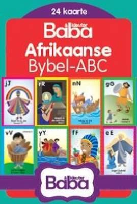 Afrikaanse flitskaarte Bybel ABC