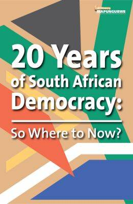 Picture of 20 Years of South African democracy : So where to now?