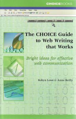 Picture of Choice Guide to Web Writing