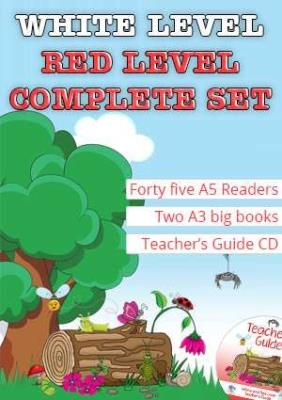 Picture of Duzi Bugs White and Red Level Complete Set : Level 1 - 8 : Grade 1: White and Red Level Readers
