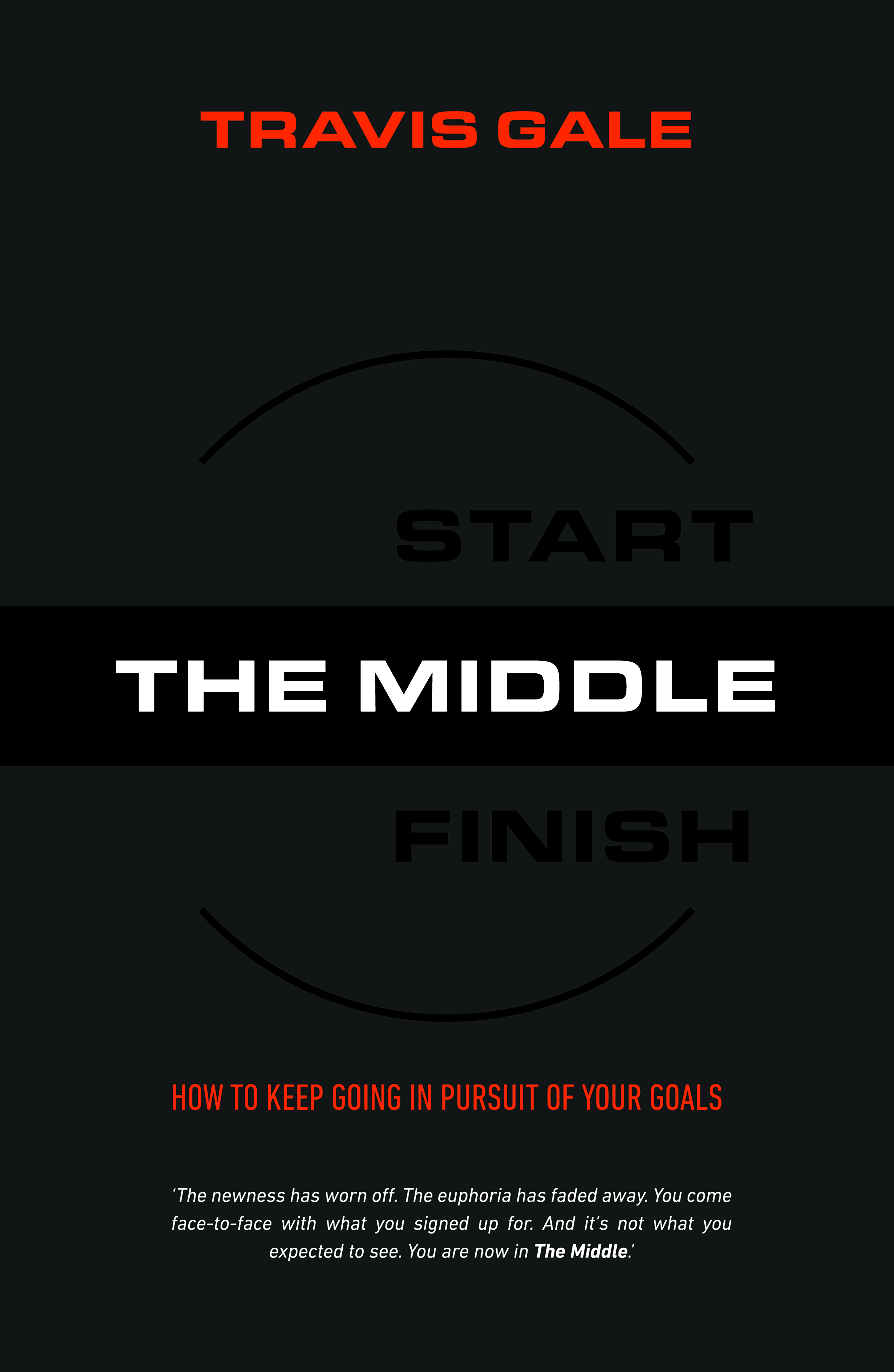 The Middle : How to Keep Going in Pursuit of Your Goals