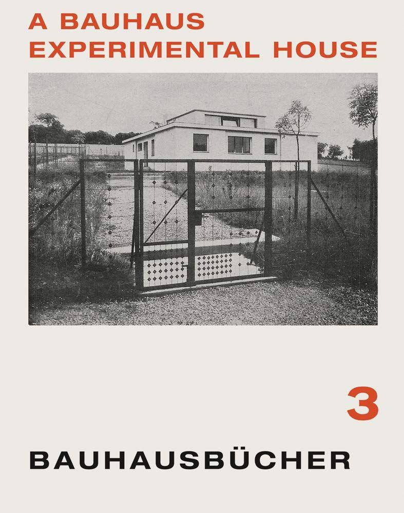 Picture of Bauhaus Experimental House: Bauhausbucher 3, 1925