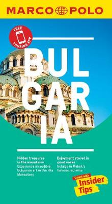 Picture of Bulgaria Marco Polo Pocket Travel Guide - with pull out map