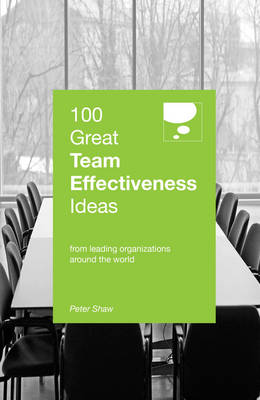 Picture of 100 Great Team Effectiveness Ideas